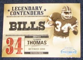 2002 Playoff Legendary Contenders Thurman Thomas #13