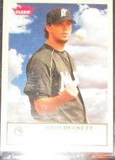 2005 Fleer Tradition Josh Beckett #278 Marlins
