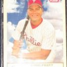 2005 Fleer Tradition Todd Pratt #232 Phillies