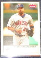 2005 Fleer Tradition Shannon Stewart #214 Twins