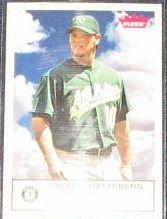 2005 Fleer Tradition Scott Hatteberg #143 Athletics