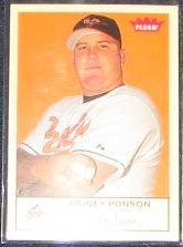 2005 Fleer Tradition Sidney Ponson #75 Orioles
