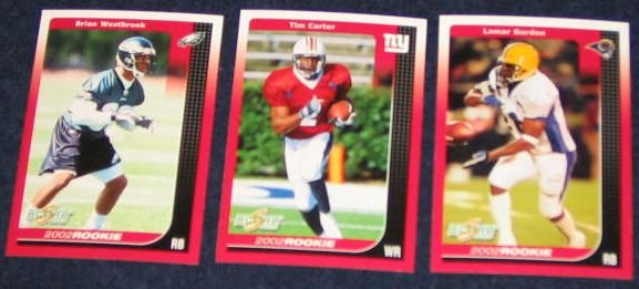 2002 Score Rookie Tim Carter #288