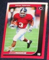 2002 Score Rookie Adrian Peterson #268