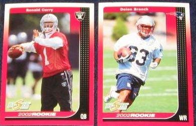 2002 Score Rookie Deion Branch #296