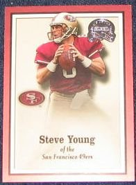 2000 Fleer Greats of the Game Steve Young #32 49ers