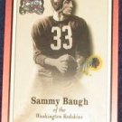 2000 Fleer Greats of the Game Sammy Baugh #56