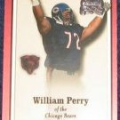 2000 Fleer Greats of the Game William Perry #28 Bears