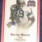 2000 Fleer Greats of the Game Harvey Martin #12 Cowboys