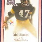 2000 Fleer Greats of the Game Mel Blount #58 Steelers
