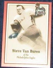 2000 Fleer Greats of the Game Steve Van Buren #57