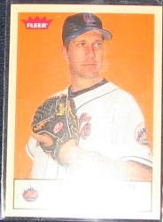 2005 Fleer Tradition Steve Trachsel #225 Mets