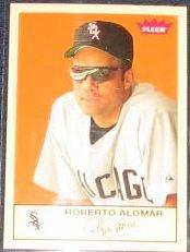 2005 Fleer Tradition Roberto Alomar #248 White Sox