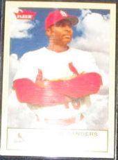 2005 Fleer Tradition Reggie Sanders #268 Cardinals
