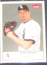 2005 Fleer Tradition Jon Adkins #127 White Sox