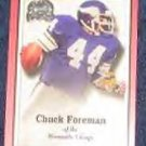 2000 Fleer Greats of the Game Chuck Foreman #42 Vikings