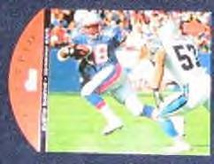 1996 Upper Deck Team Trio Curtis Martin #TT82 Patriots