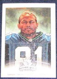 2002 Donruss Gridiron Kings Koren Robinson #87 Seahawks