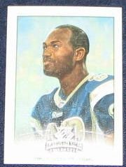 2002 Donruss Gridiron Kings Torry Holt #90 Rams