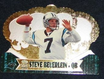 2000 Pacific Crown Royale Steve Beuerlein #14 Panthers