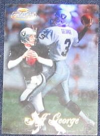 1998 Topps Gold Label Jeff George #89 Raiders
