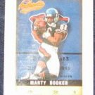 2002 Fleer Authentix Marty Booker #38 Bears