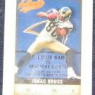 2002 Fleer Authentix Isaac Bruce #36 Rams