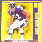 2001 Playoff Season Ticket Ray Lewis #8 Ravens