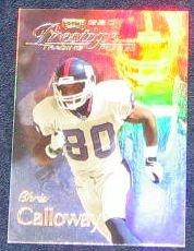 1998 Playoff Prestige SSD Chris Calloway #B142 Giants