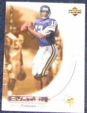 2000 Upper Deck Ovation Daunte Culpepper #32 Vikings