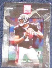 2002 Donruss Elite Michael Vick #59 Falcons
