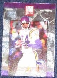 2002 Donruss Elite Randy Moss #77 Vikings