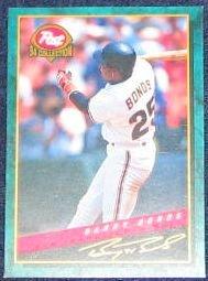 1994 Post Barry Bonds #11 Giants