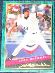 1994 Post Jack McDowell #7 White Sox