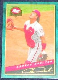 1994 Post Darren Daulton #9 Phillies