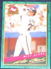 1994 Post Will Clark #22 Giants