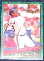 1994 Post Albert Belle #27 Indians