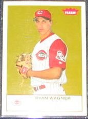 2005 Fleer Tradition Ryan Wagner #210 Reds