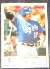 2005 Fleer Tradition Matt Stairs #16 Royals