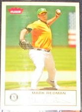 2005 Fleer Tradition Mark Redman #252 Athletics