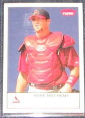 2005 Fleer Tradition Mike Matheny #57 Cardinals