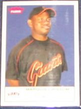 2005 Fleer Tradition Marquis Grissom #91 Giants