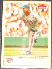 2005 Fleer Tradition Livan Hernandez #241 Nationals
