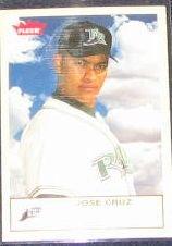 2005 Fleer Tradition Jose Cruz #73 Devil Rays