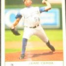 2005 Fleer Tradition Jaime Cerda #208 Royals