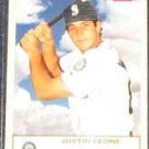 2005 Fleer Tradition Justin Leone #218 Mariners