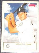 2005 Fleer Tradition Justin Leone #218 Mariners