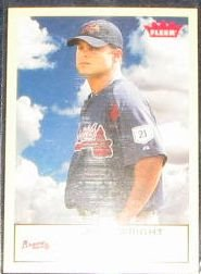 2005 Fleer Tradition Jaret Wright #262 Braves