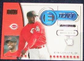 2000 Skybox E-Ticket Ken Griffey Jr.#8 Reds