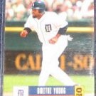 2005 Donruss Dmitri Young #182 Tigers
